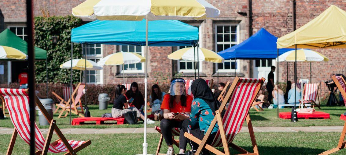YSJ Fest, York St John welcome students