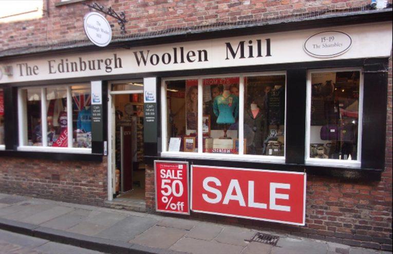 Edinburgh Woollen Mill, The Shambles,