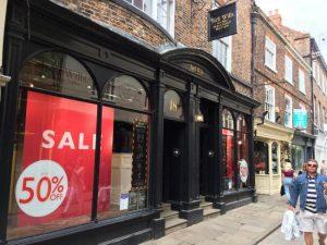 Jack Wills in York is permanently closing its doors.