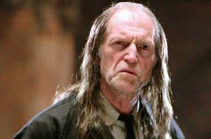 David Bradley as Argus Filch.